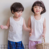 Kids Tank Top Undershirts 2 pack -Pure