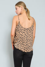 Load image into Gallery viewer, Satin Animal Print Tank