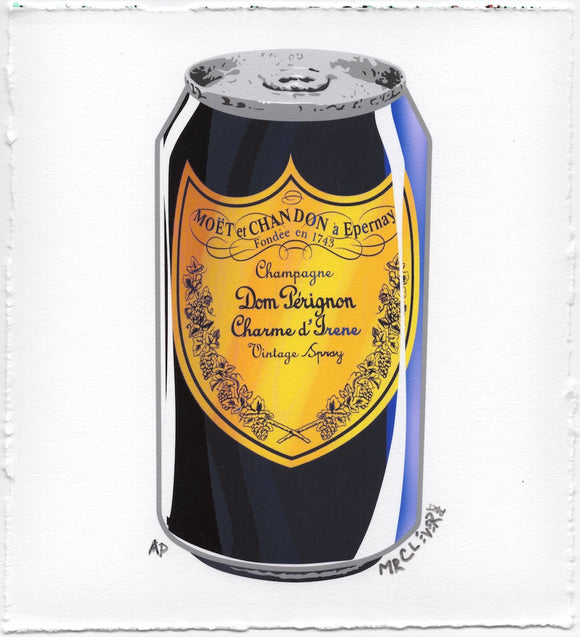 Luxury Champagne Soda Pop Can