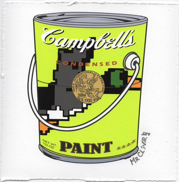 Duck Duck Duck Paint Can Lime