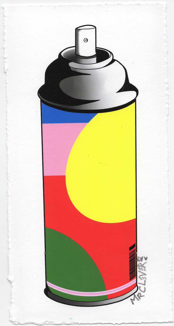 Contemporary Spray Can #8