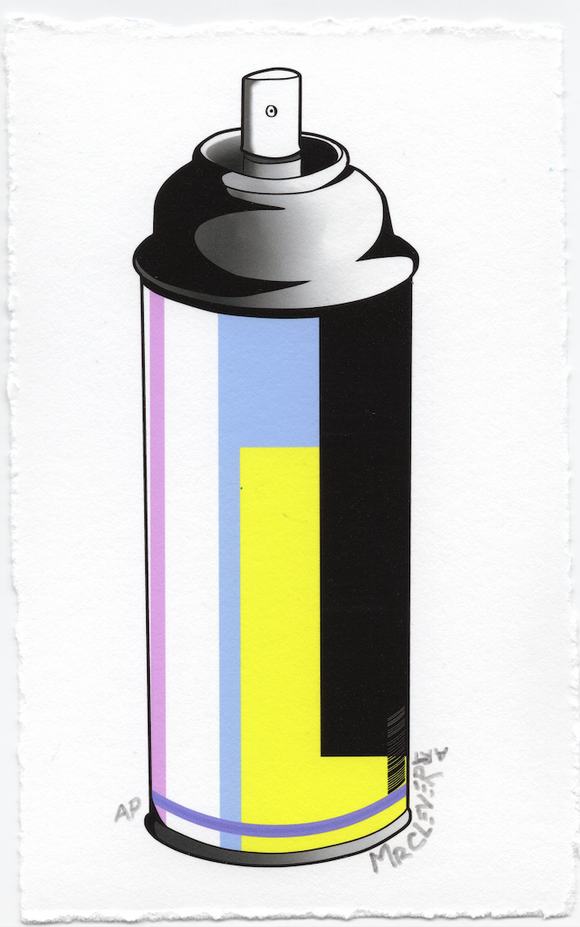 Contemporary Spray Can #9