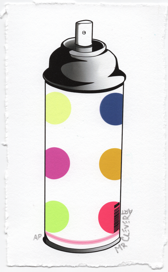 Contemporary 6.2 Dots Spray Can