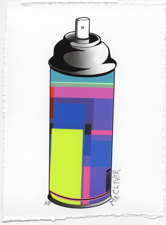 Contemporary Spray Can #10