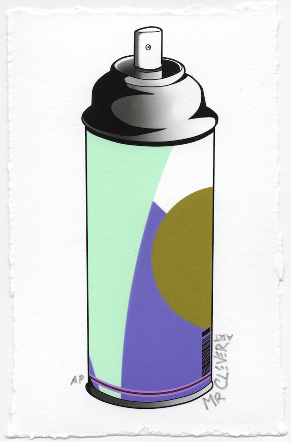 Contemporary Spray Can #11