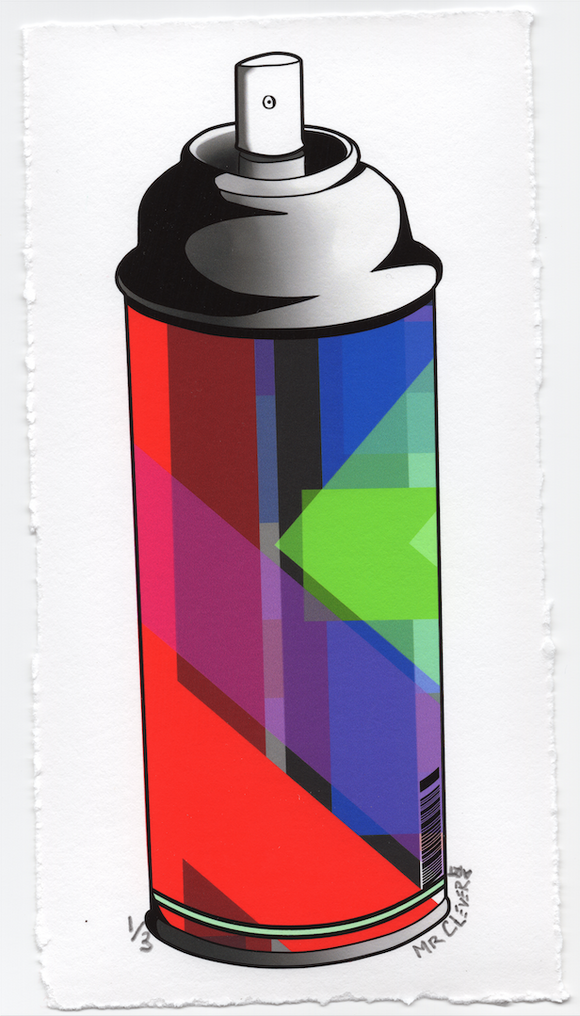 Contemporary Graffiti Spray Can #6