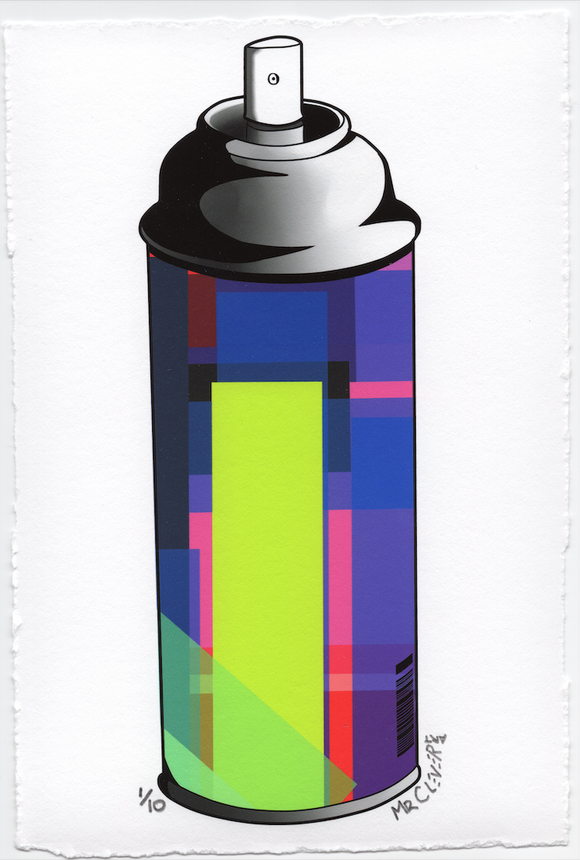 Contemporary Graffiti Spray Can #1