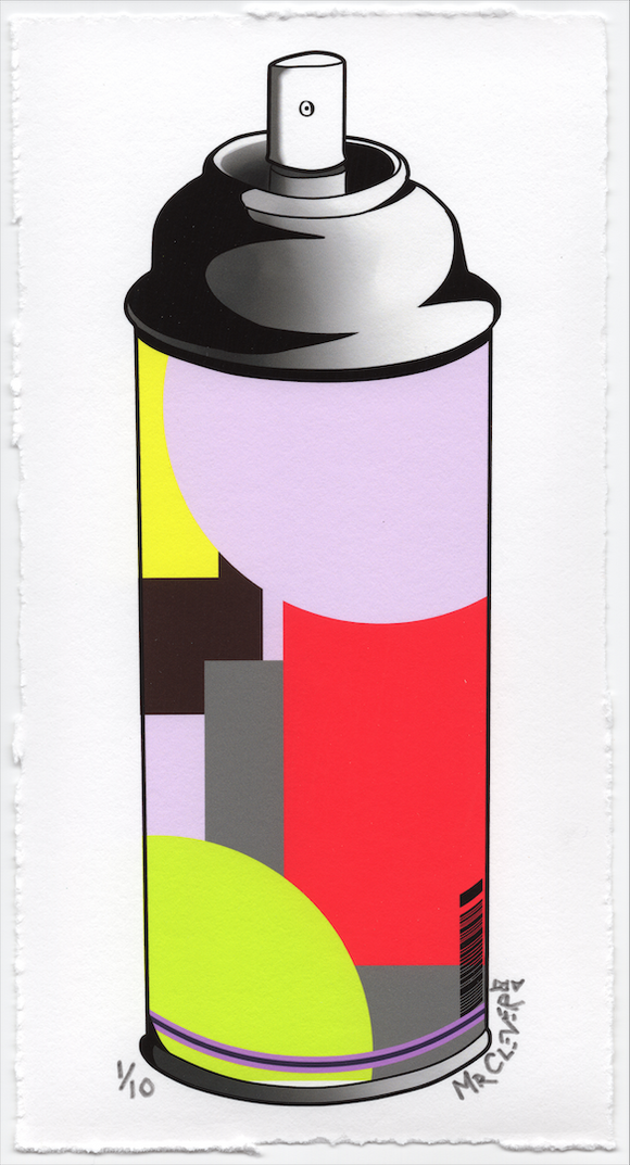 Contemporary Spray Can #2