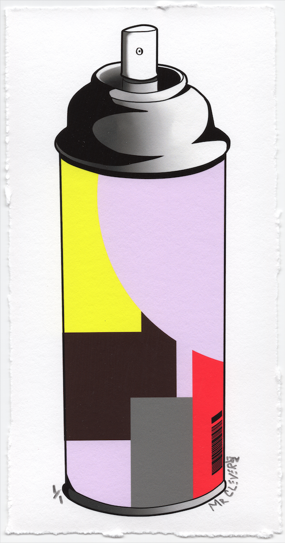 Contemporary Spray Can #7
