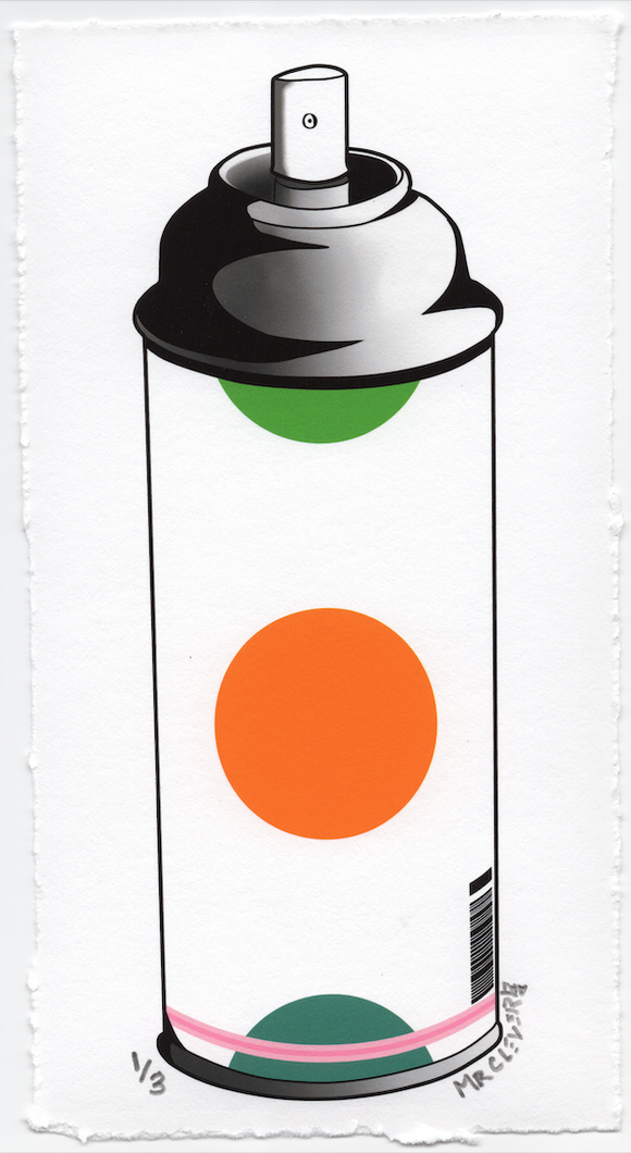 Contemporary 3.1 Dots Spray Can