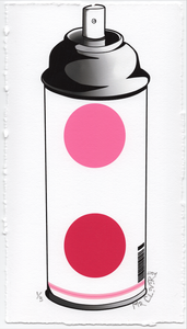 Contemporary 2.1 Dots Spray Can