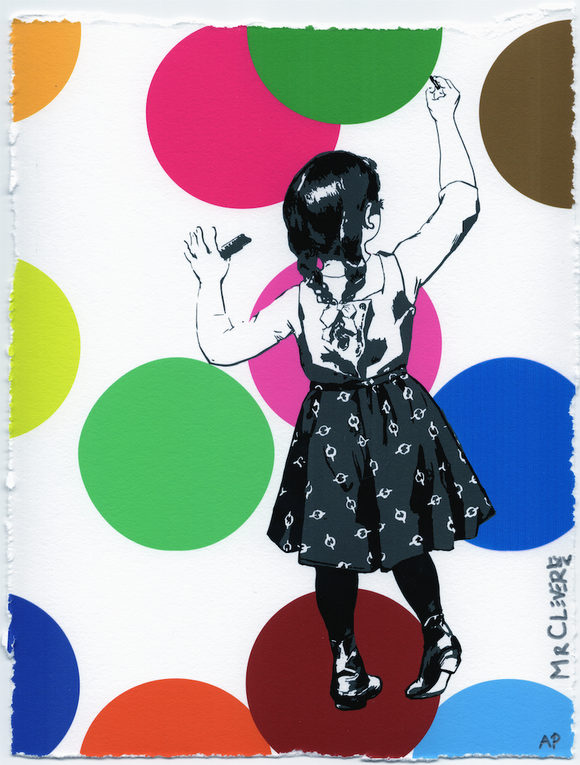 Graffiti Girl Dots Edition