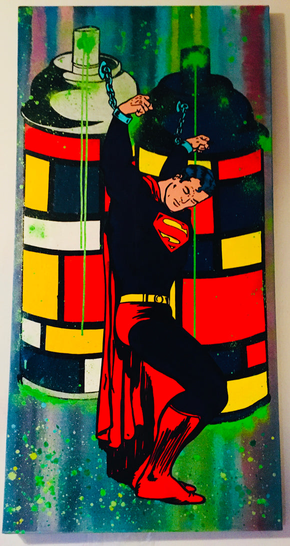 Kryptonian Prisoner Painting