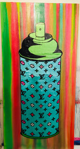 Luxury French Spray Can Painting
