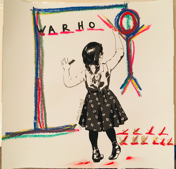 Graffiti Girl Hangman WARHO_