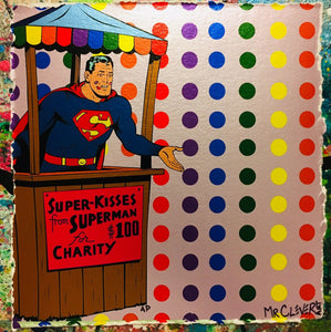 Superhero Kissing Booth Metallic