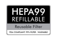 HEPA PM 0.3 Washable Filter - 20pcs-face mask-OGONEWYORK | Contemporary Womenswear | Ethical | Kind