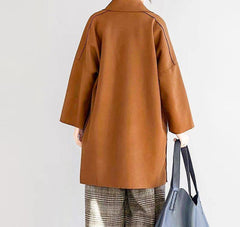 Cotton Blend Lightweight Coat-Coats and Jackets-OGONEWYORK | Contemporary Womenswear | Ethical | Kind
