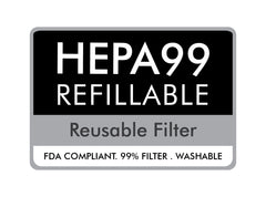 HEPA PM 0.3 Washable  Filter - 10pcs