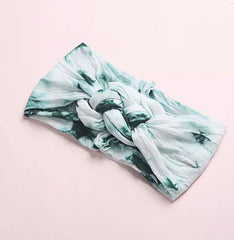 Tie Dye Adult Chunky Sailor Knot Headband-Accessories-OGONEWYORK | Contemporary Womenswear | Ethical | Kind