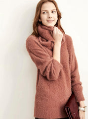 Burnt Orange Cozy  Sweater
