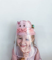 Kids Reusable Anti Fog Face Shield