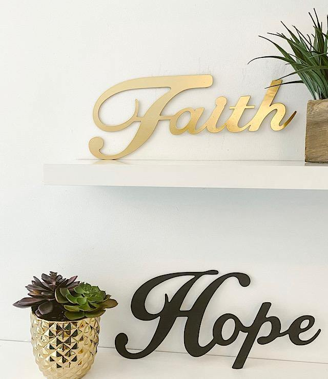 3 PCS - Metal Wall Sign-Home & Living-OGONEWYORK | Contemporary Womenswear | Ethical | Kind