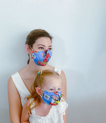 Marvel Cotton Mask + 1 HEPA Filter-face mask-OGONEWYORK | Contemporary Womenswear | Ethical | Kind