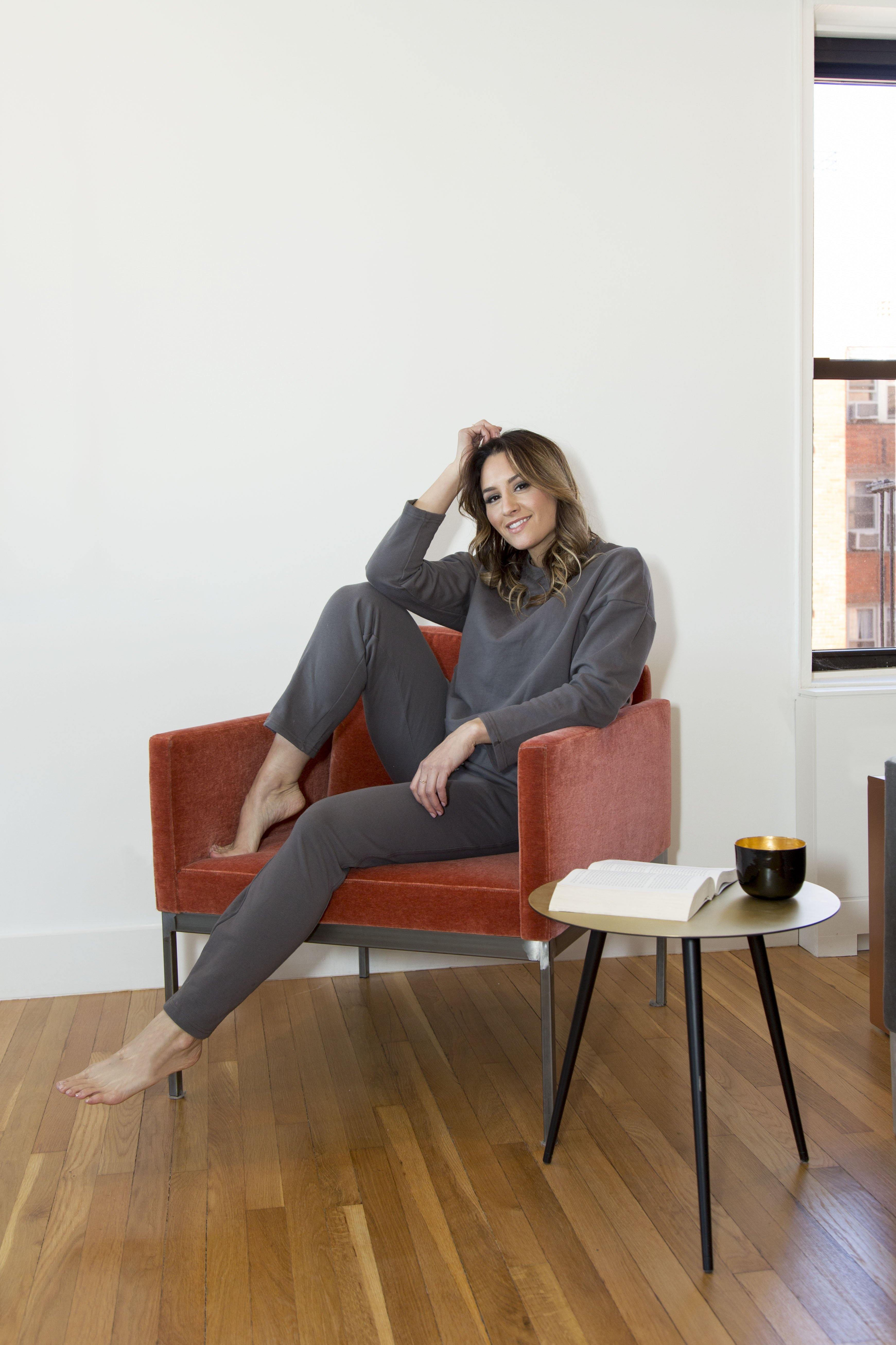 Gray Lounge Wear Set-Sets-OGONEWYORK | Contemporary Womenswear | Ethical | Kind