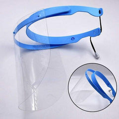 Blue Adjustable Anti Fog Face Protection Shield