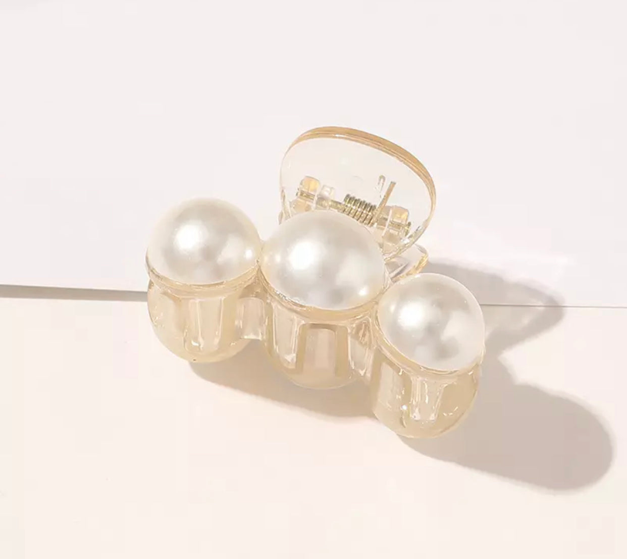 Pearl Hair Claw Clips-Accessories-OGONEWYORK | Contemporary Womenswear | Ethical | Kind