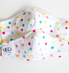 HEPA99 Face Mask - 99% Filter |Pockets  Inserts | 100% Cotton | Reversible | Washable - Bethany - OGONEWYORK | Contemporary Womenswear | Ethical | Kind