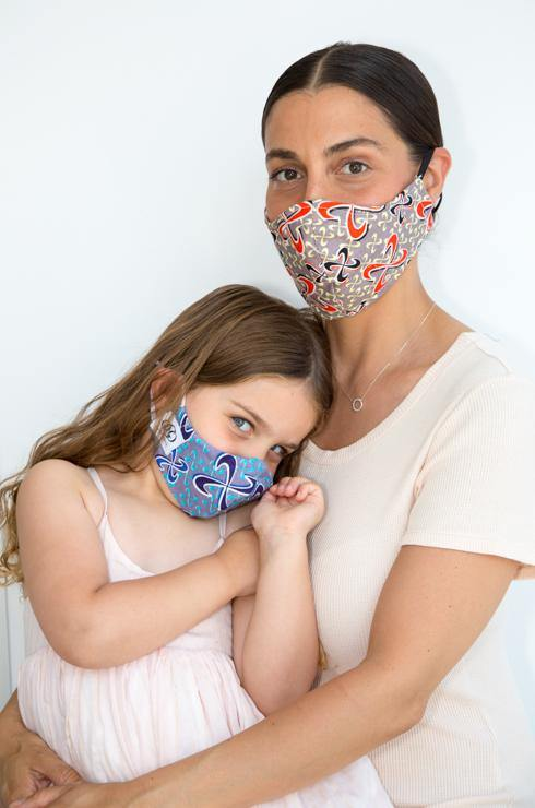 Our Avery HEPA 99% barrier kids print face mask is the perfect add-on to your summer closet. Made of 100% breathable washable Cotton,100% soft cotton lining and a nose grip, Avery's versatility with its reversible inner lining makes it a fun mask for every adults and kids.