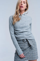 Gray  Classic Sweater