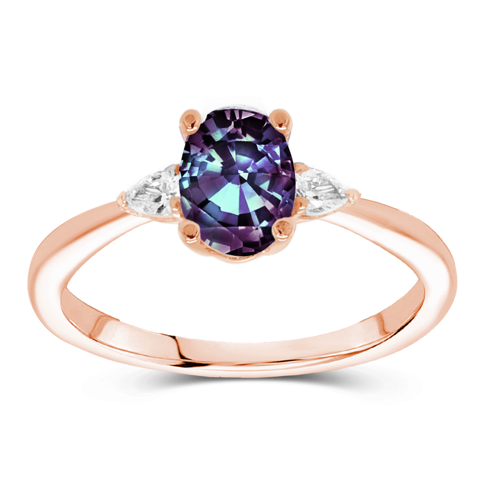 The Ada - Lab Grown Alexandrite