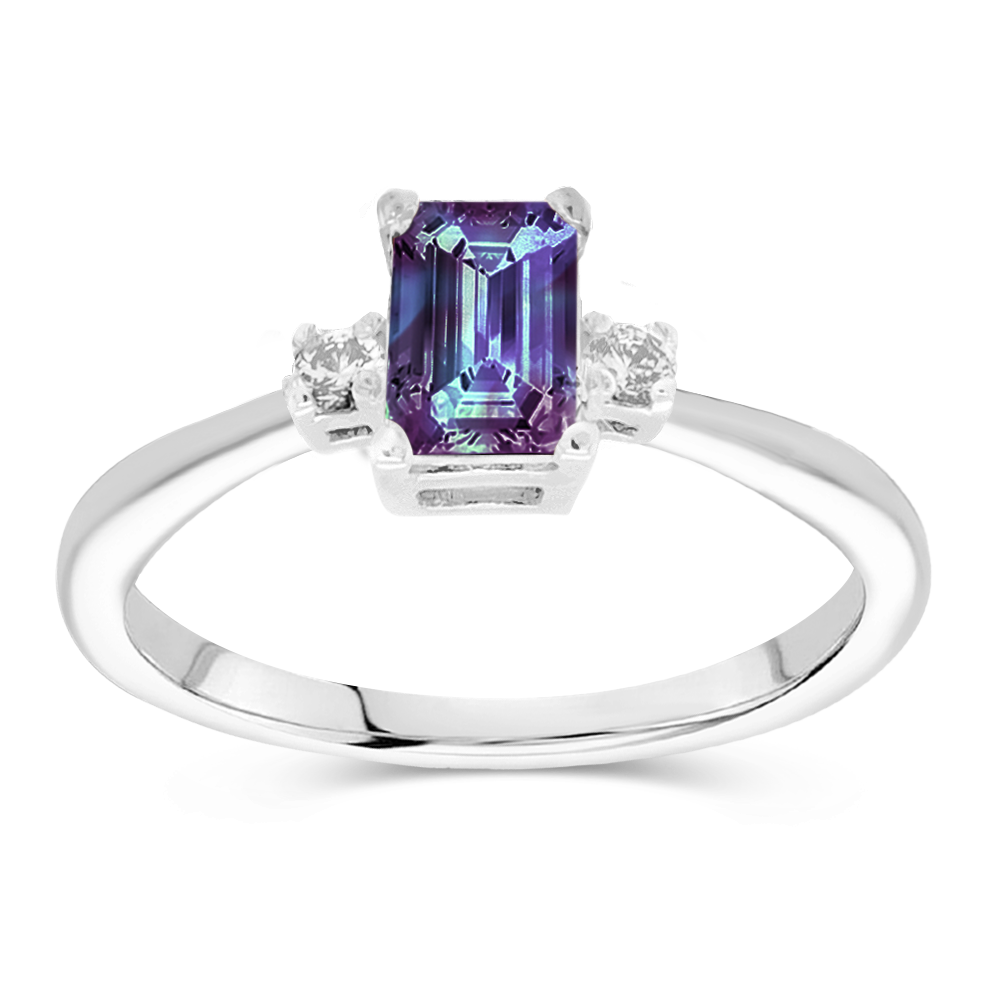 The Alice - Lab Grown Alexandrite