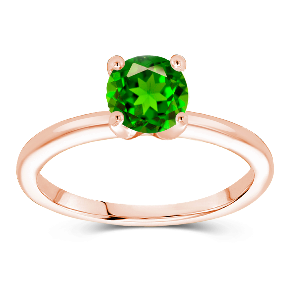 The Audrey - Natural Green Tsavorite