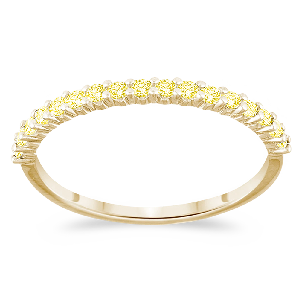 The Brazen - Natural Yellow Diamonds