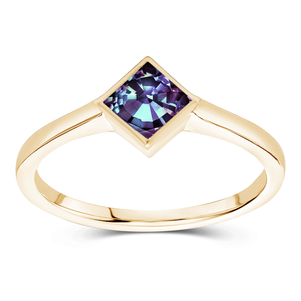 The Cecilia - Lab Grown Alexandrite