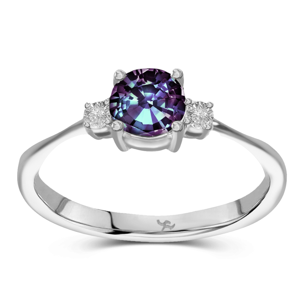 The Celeste - Lab Grown Alexandrite