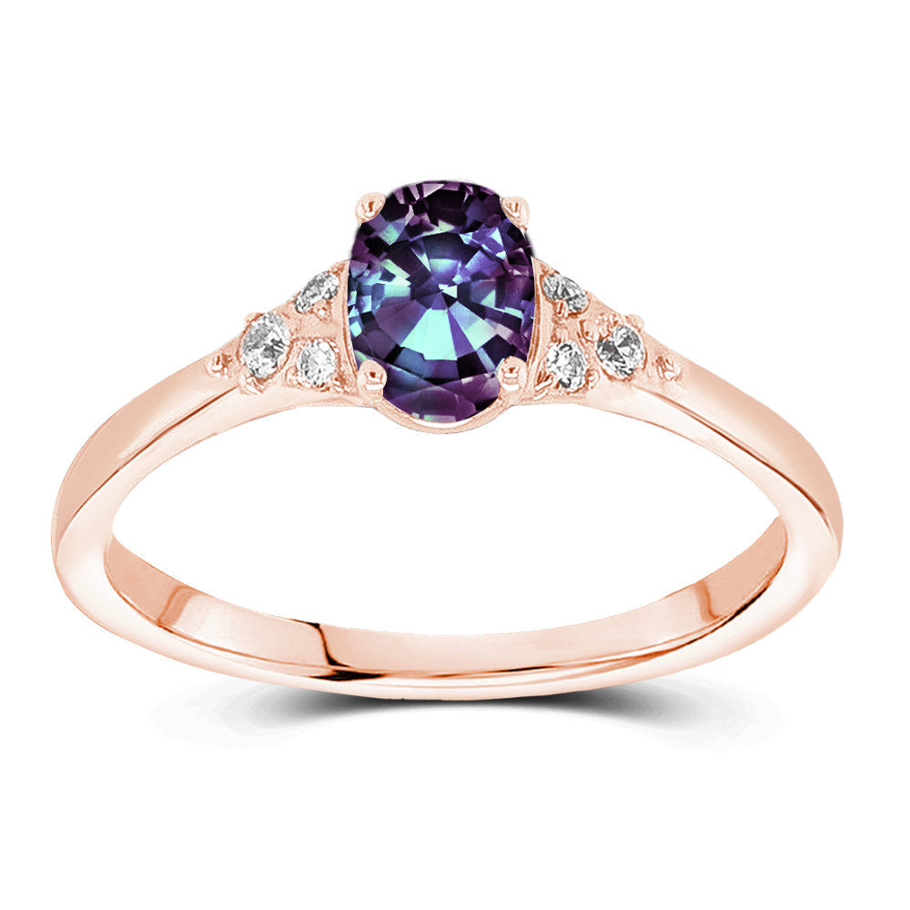 The Elizabeth - Lab Grown Alexandrite