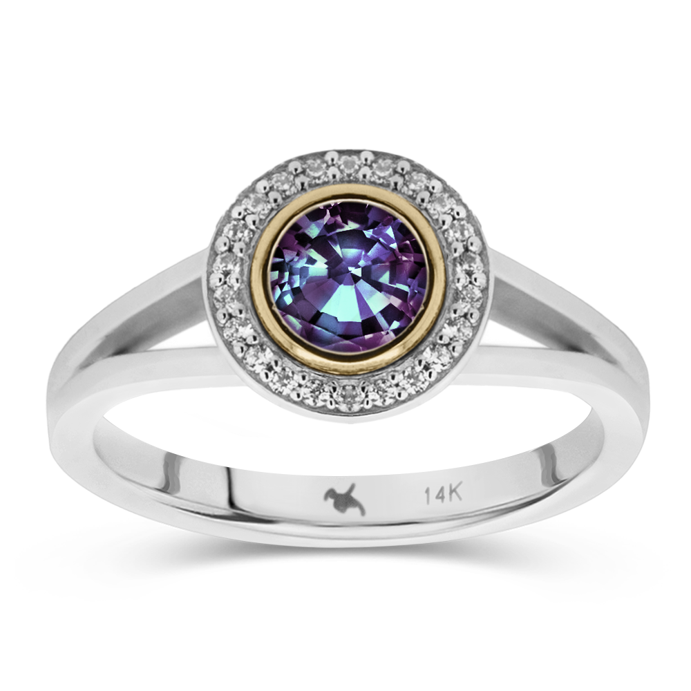 The Diana - Lab Grown Alexandrite