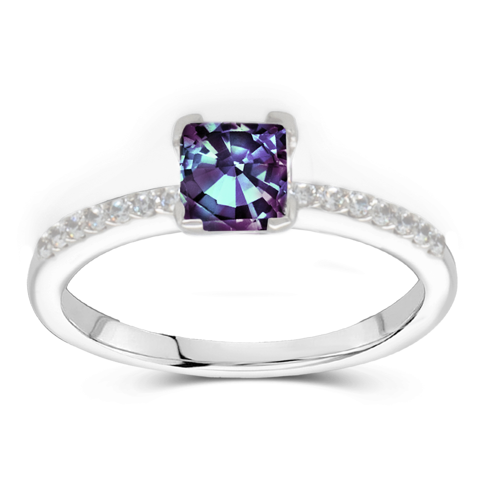The Grace - Lab Grown Alexandrite