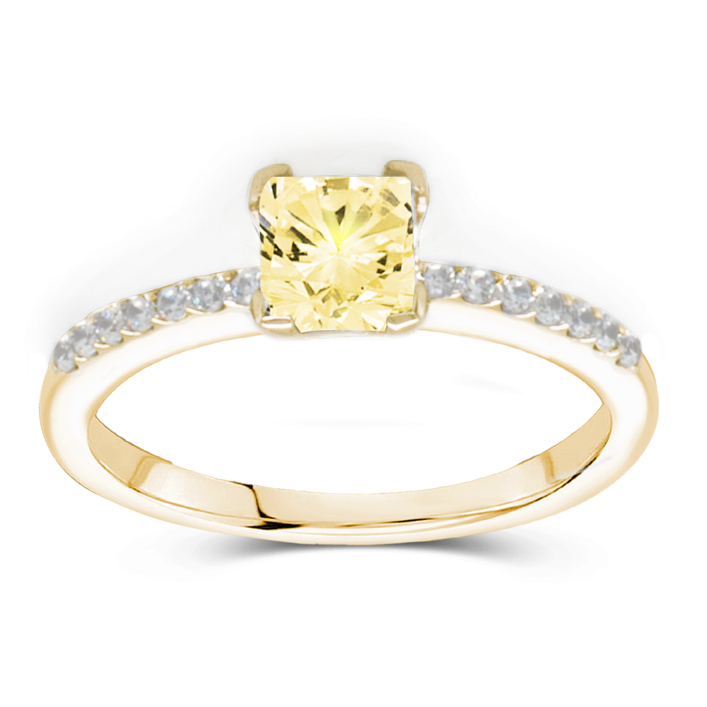 The Grace - Natural Yellow Diamond