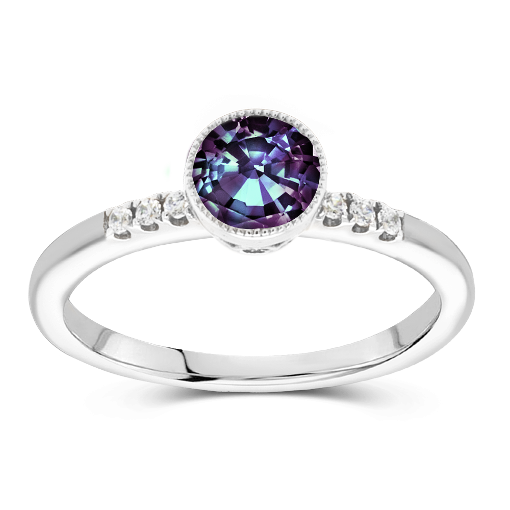 The Gwyneth - Lab Grown Alexandrite