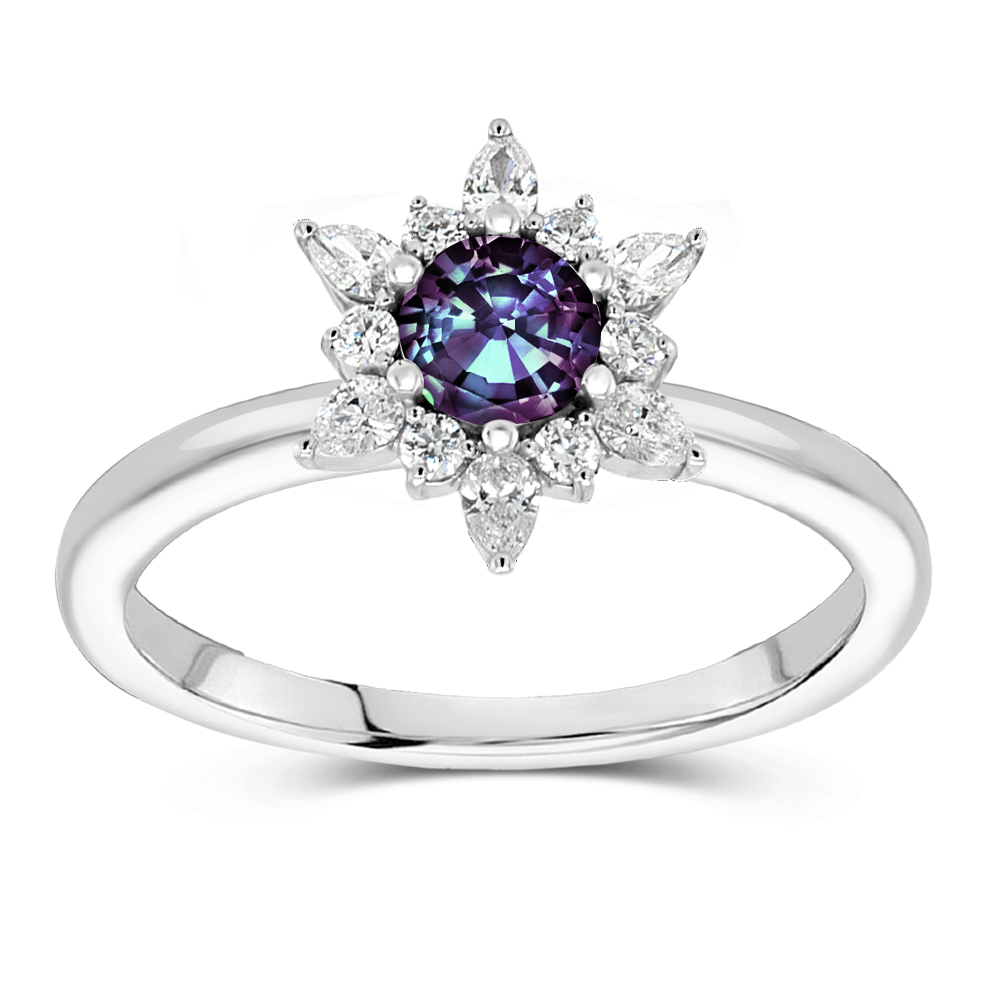 The Karine - Lab Grown Alexandrite