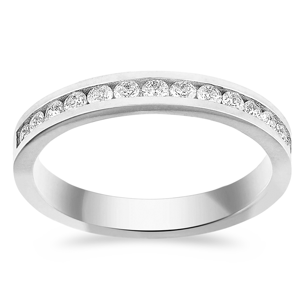 The Revolutionary - 14K White Gold / Lab Grown White Diamonds