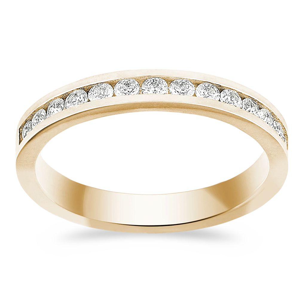 The Revolutionary - 14K Yellow Gold / Lab Grown White Diamonds
