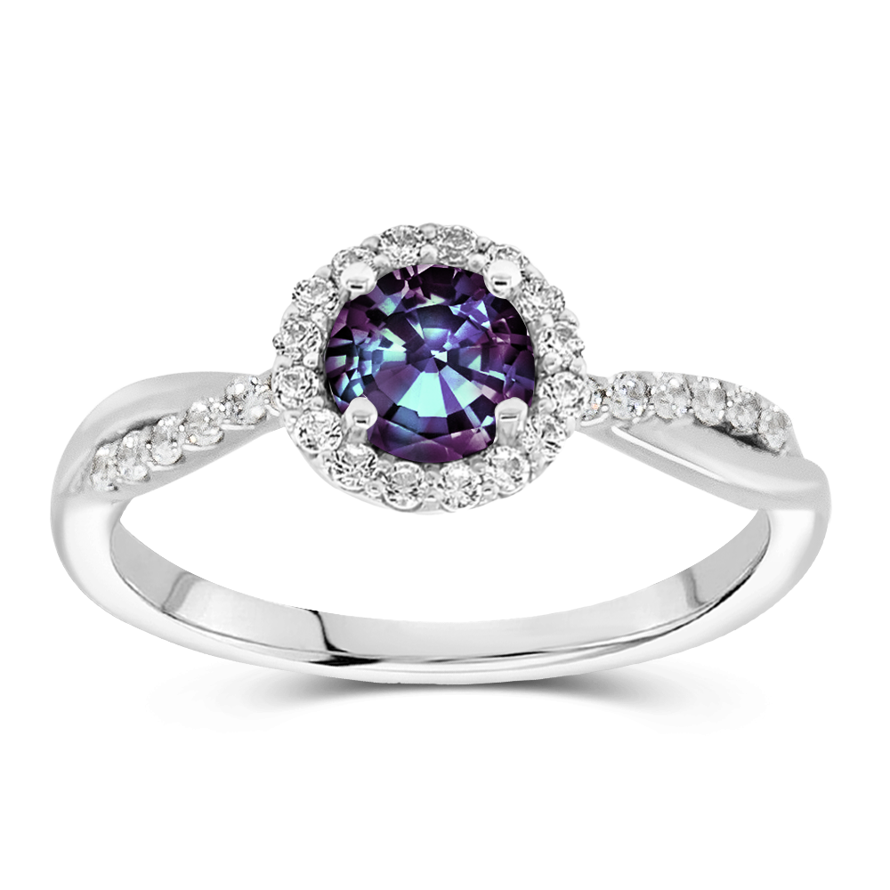 The Rosalind - Lab Grown Alexandrite