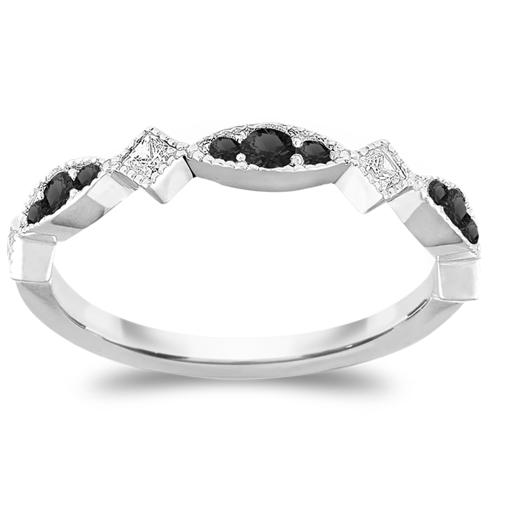 The Trendsetter - Natural Black Diamonds